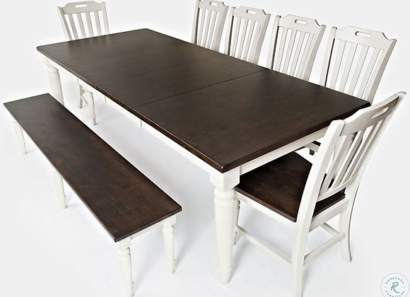 Orchard Table with Bench 8pc Set