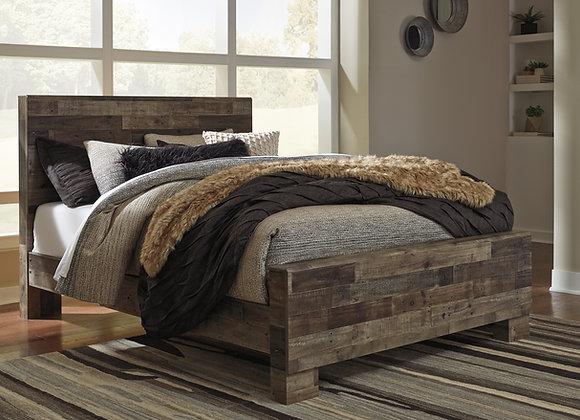 Derekson Bed (Multi Gray)