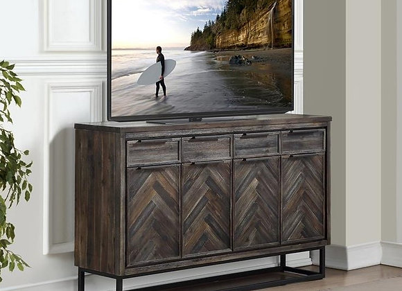 Aspen Court Herringbone Credenza with 4 Drawers