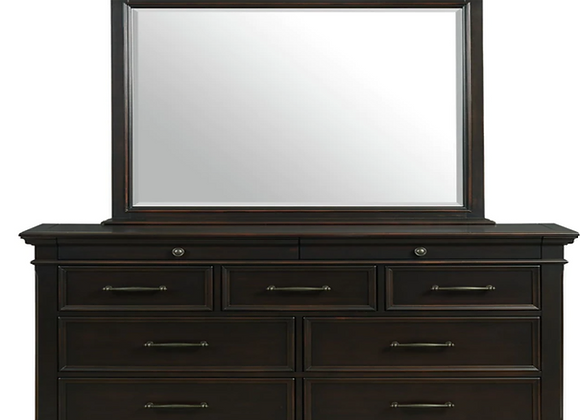 Slater Black Dresser and Mirror