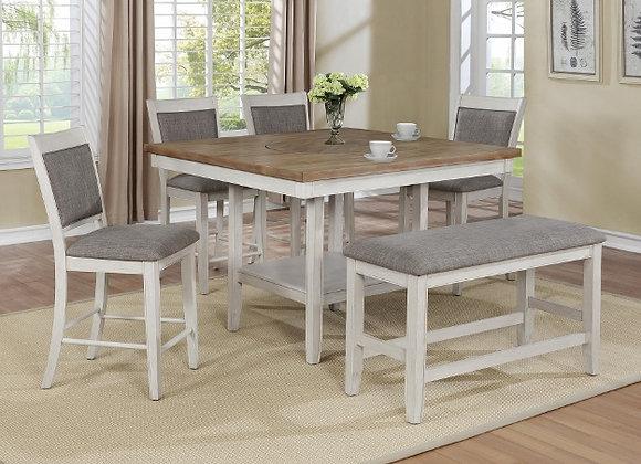 Fulton White Counter Dining Set