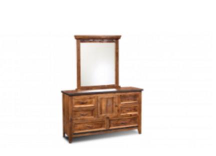 Urban Rustic Dresser and Mirror