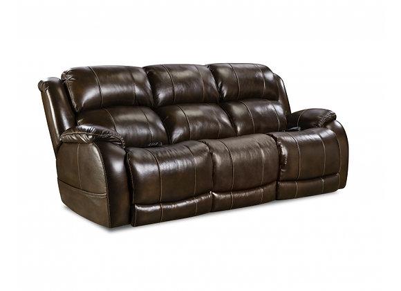 Weston Walnut Reclining Sofa