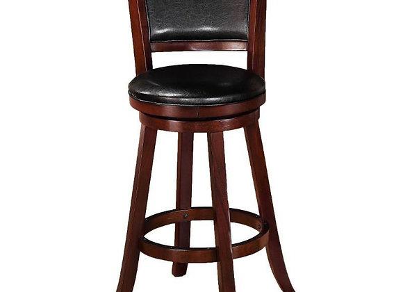 "Cecil Swivel Bar Stool 29"" (Black)"