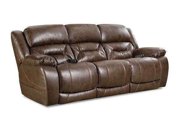Badlands Walnut Power Sofa
