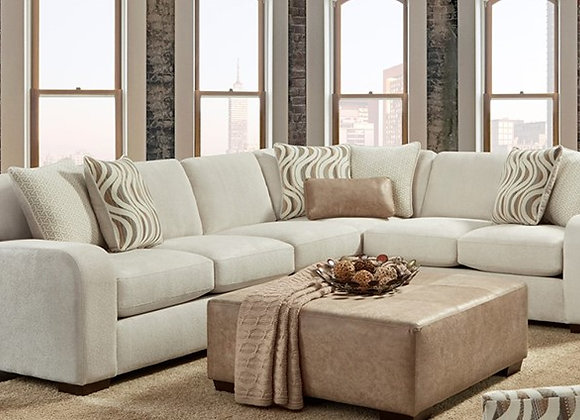 Chandler 2pc Sectional (Pebble)
