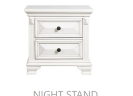 Calloway White Nightstand
