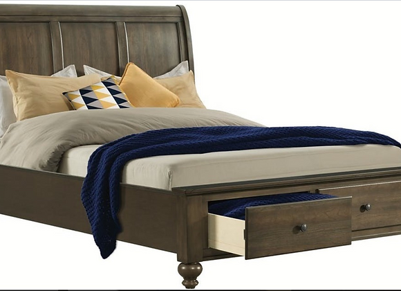 Chatham Gray Queen Bed (available in King)