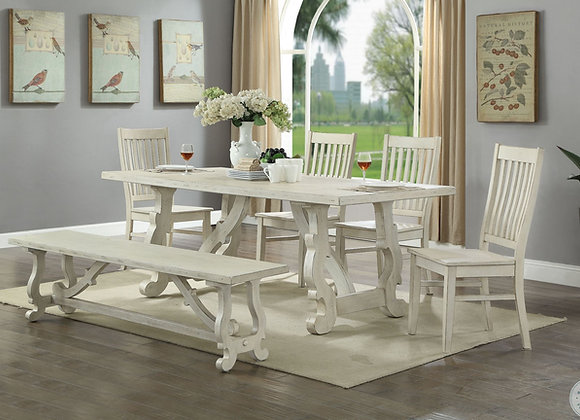 Orchard Park Dining Table Set and Bench
