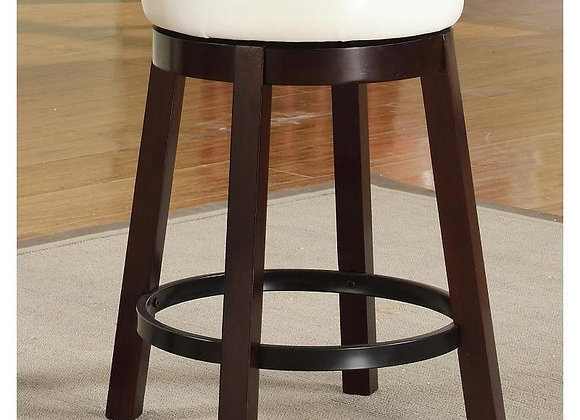 Wendy White Bar and Counter Height Stool
