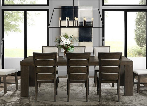 Grady Dining Set With 8 Chairs