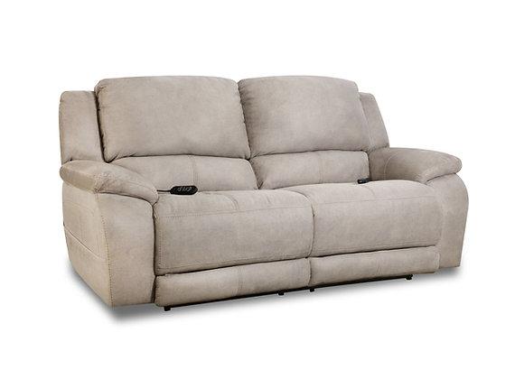 Alvarado Nickle Power Sofa