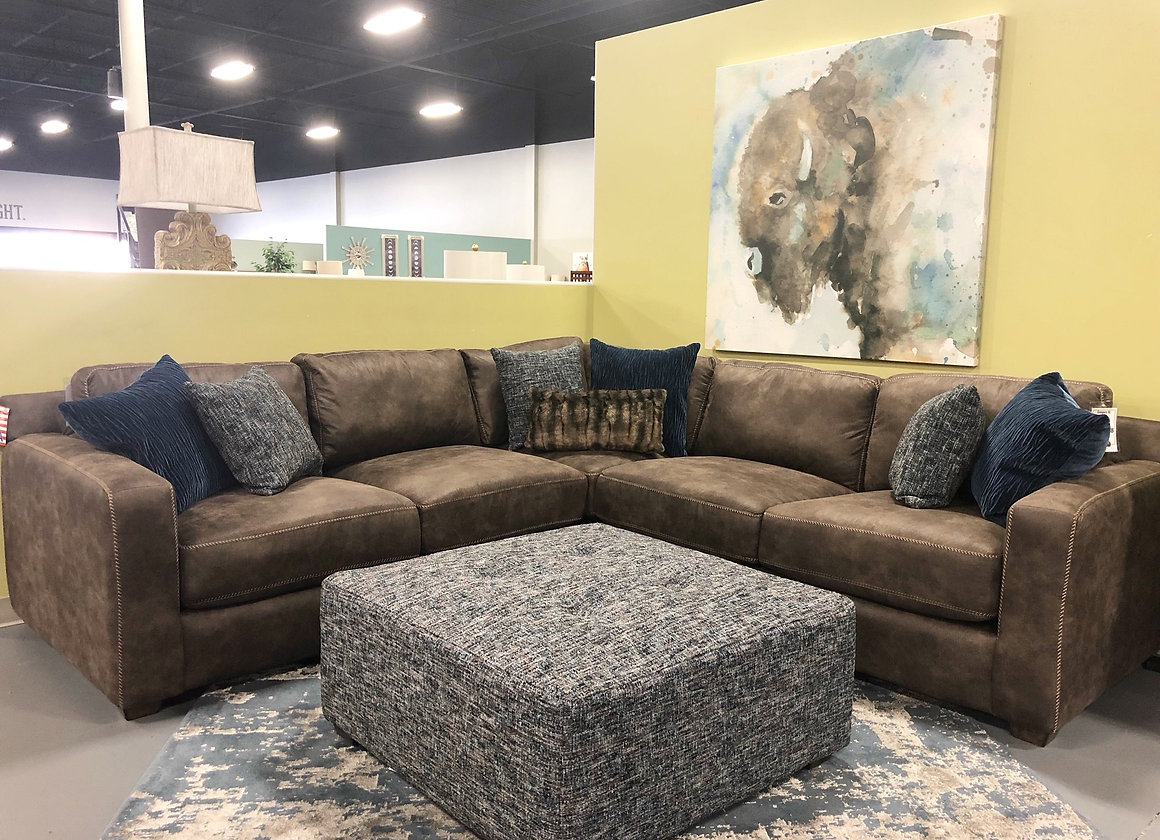 Jameson Sectional Chocolate Sofa City