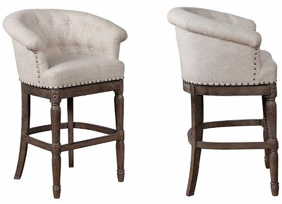 "Gia Swivel Bar Chair 29.5"""