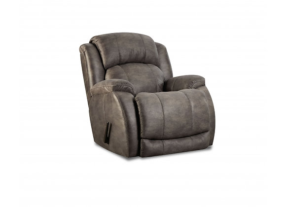 Denali Grey Rocking Recliner
