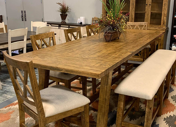 Telluride Table with Bench 7pc Set