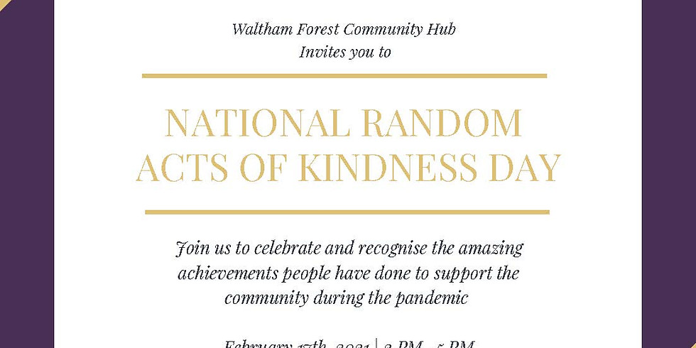Small Acts of Kindness Day