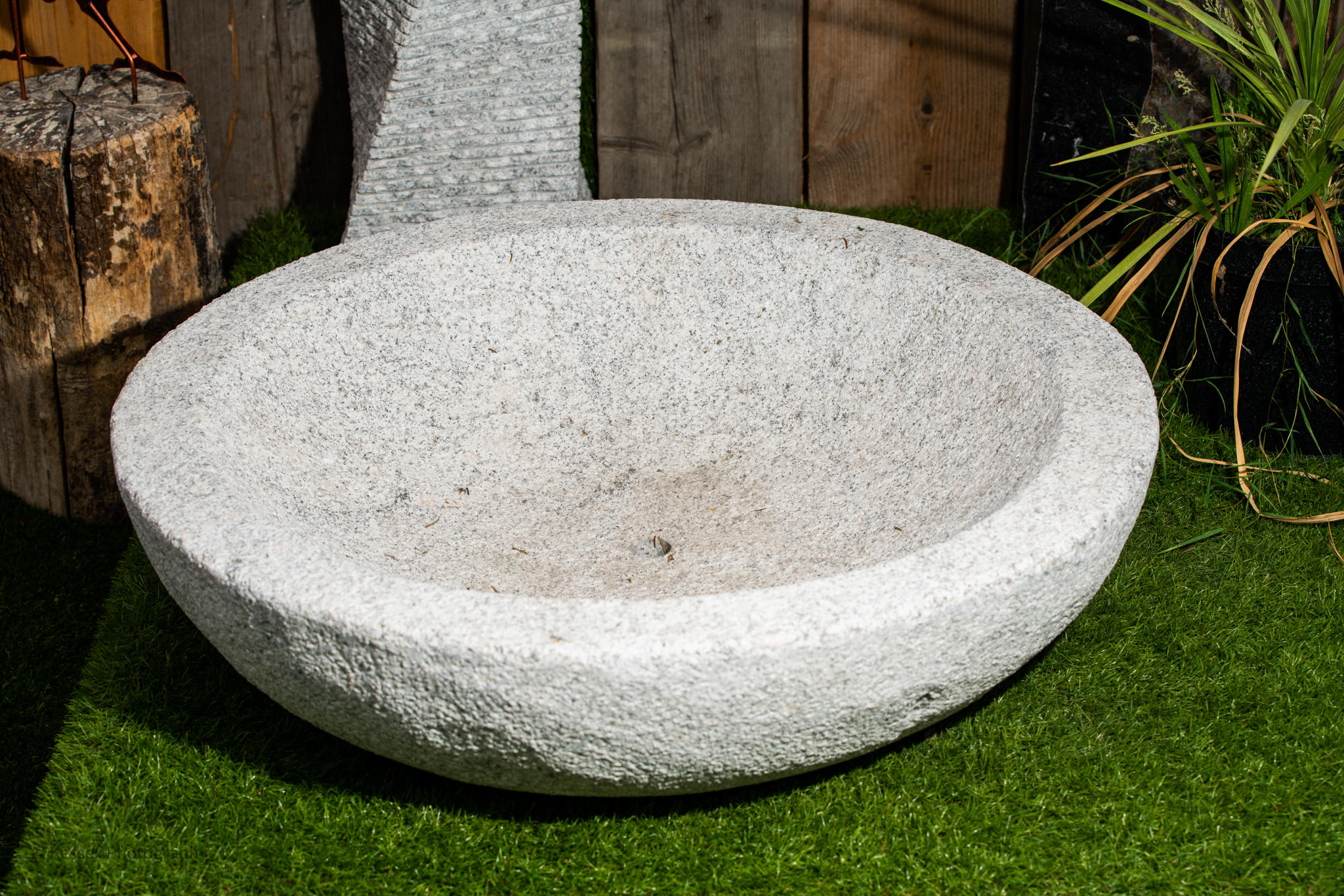 LARGE GRANITE BOWL