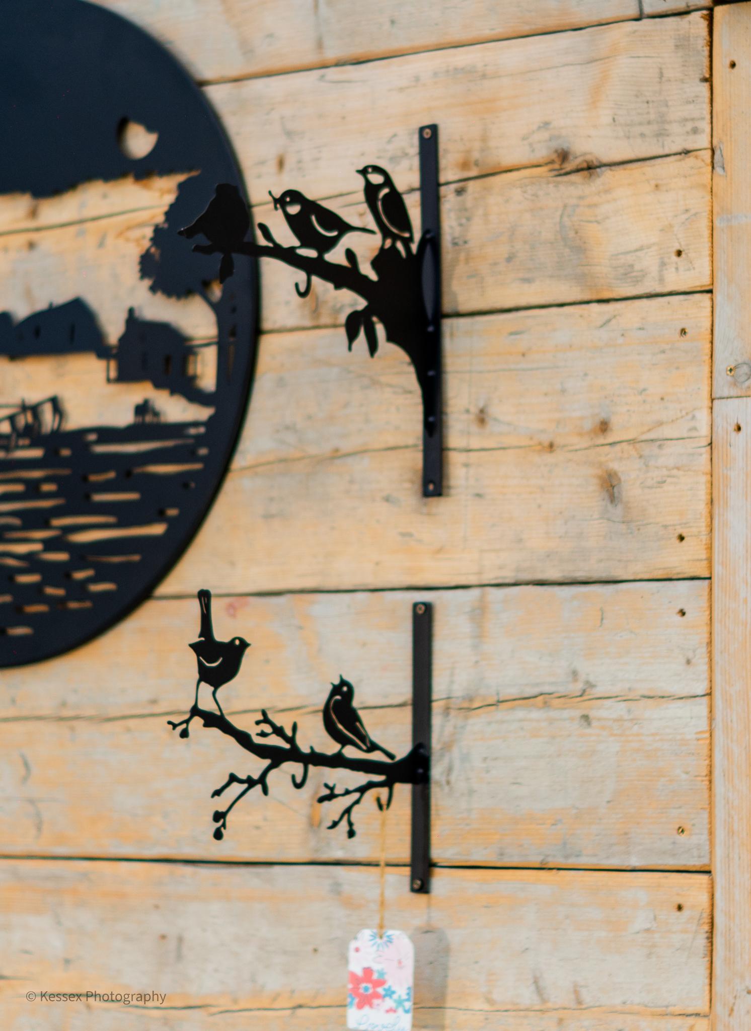BIRD FEEDING HOOKS