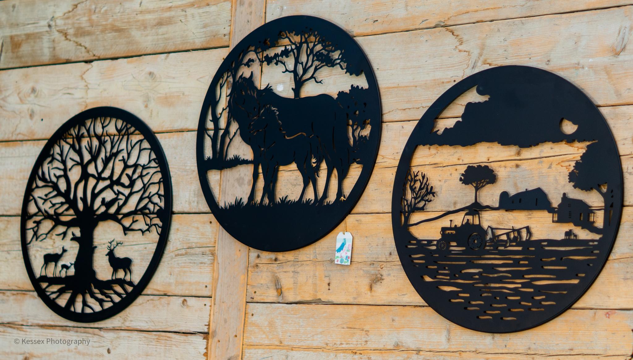 WALL ART - DEER, HORSES, FARM SCENES