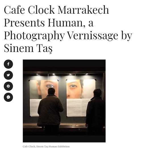 Morocco Exhibition Sinem Taş