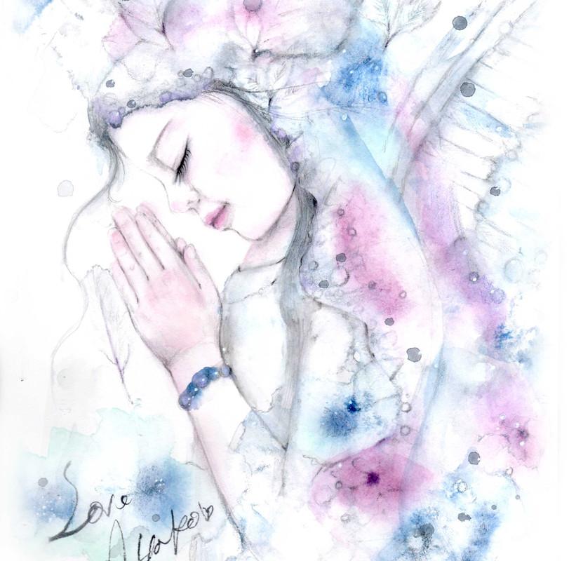 Inspirational angel art