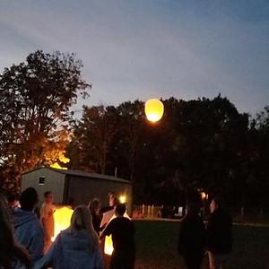 Reid's 23rd Bday Lantern Ceremony