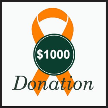 $1000 Donation to RLG Foundation