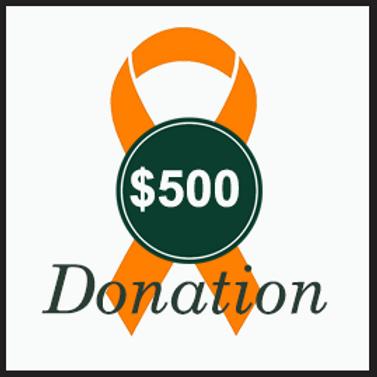 $500 Donation to RLG Foundation