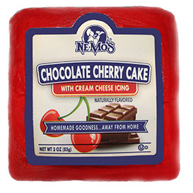 Chocolate Cherry Cake Square