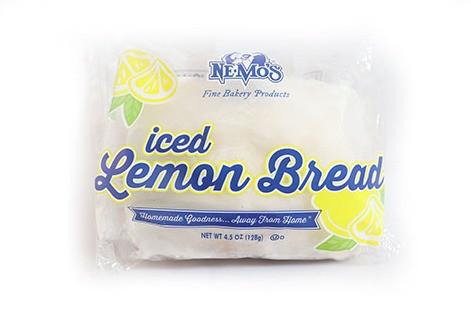 Iced Lemon Bread