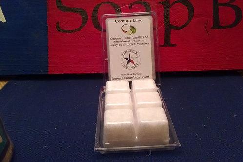 Coconut Lime Wax Tart