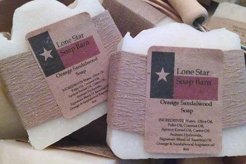 Orange Sandalwood Soap