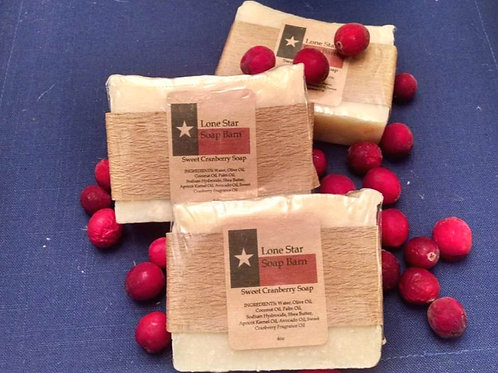 Sweet Cranberry Soap