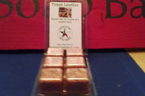 Texas Leather Wax Tart