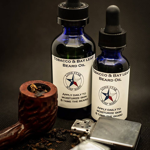 Tobacco & Bay Leaf Beard Oil