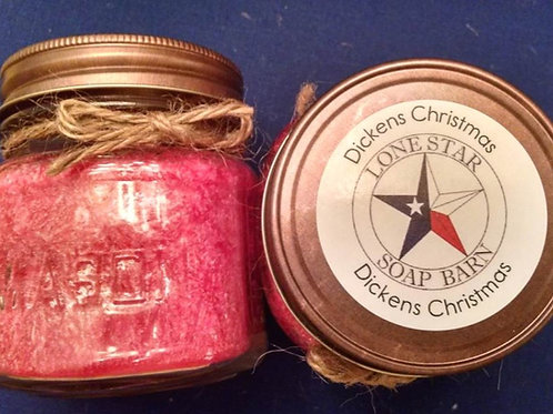 Dickens Christmas Candle
