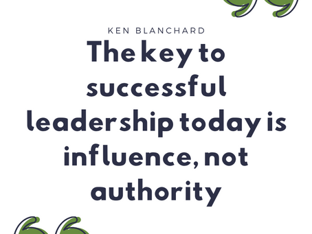 Leaders influence rather than command