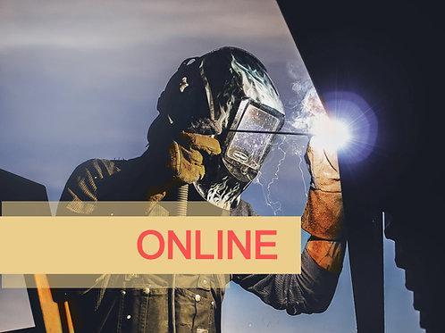 Adiestramiento ONLINE de Regulaciones OSHA en Soldadura