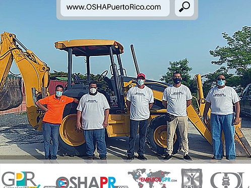 """Clases de Manejo de Backhoe (""""Digger"""") + Adiestramiento OSHA"""