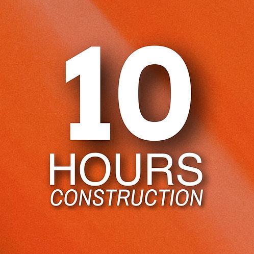 Certificación ONLINE Oficial OSHA 10-horas en CONSTRUCCIÓN con Guía de Estudio