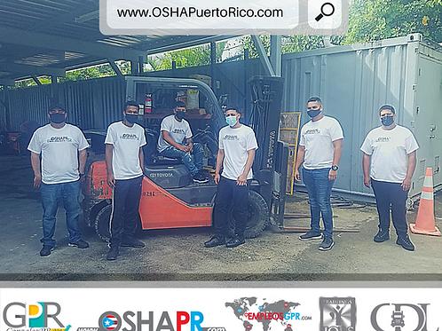 Clases de Manejo de Montacargas + Adiestramiento OSHA