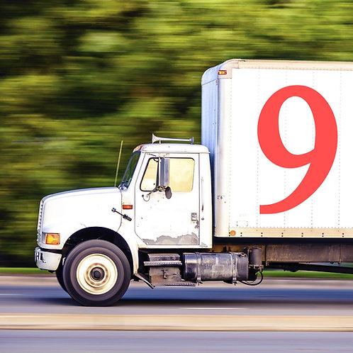 Clases de Manejo de Camiones y Licencia Categoría 9