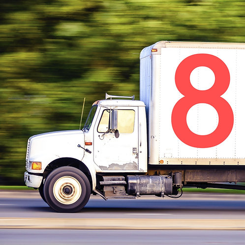 Clases de Manejo de Camiones y Licencia Categoría 8