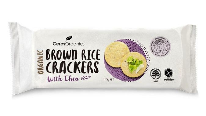 Organic Brown Rice Cracker –150g