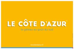LE CÔTE D'AZUR