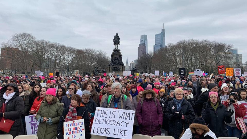 Women's March on Philadelphia