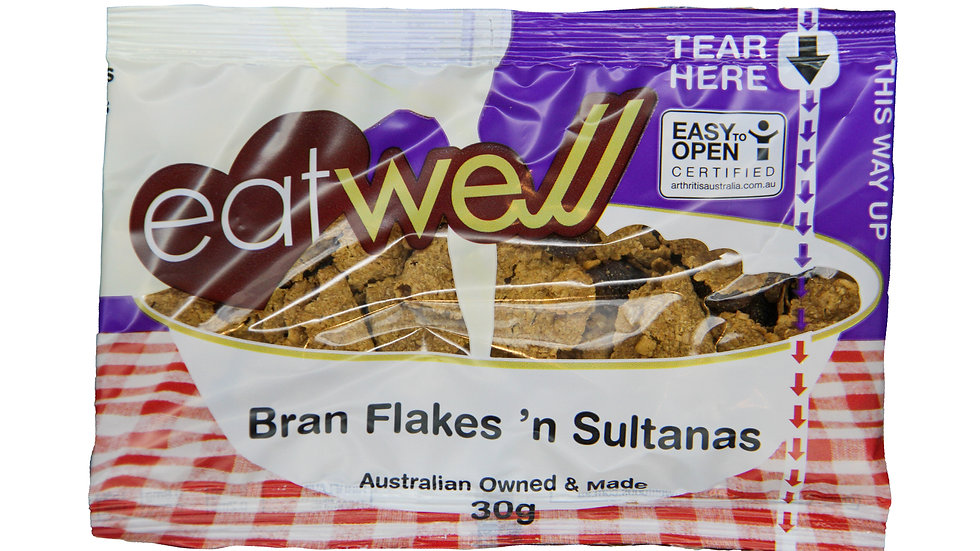 Bran Flakes and Sultanas PC 30gx30