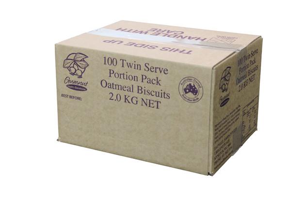 Twin Oatmeal Carton