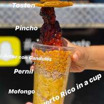 PR in a cup